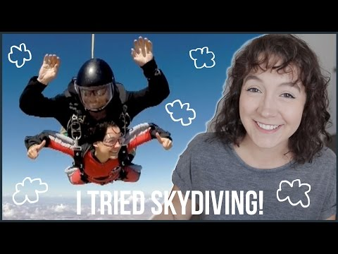 Facing My Biggest Fear | I Tried Skydiving!!