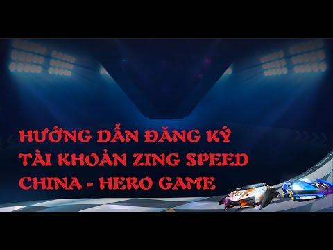 Zing Speed Mobile TV | Game Mobile 2017 | Hướng dẫn đăng ký tài khoản Zing Speed Mobile Trung Quốc