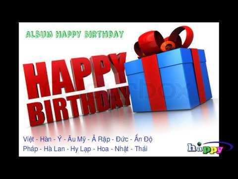 Album chúc mừng sinh nhật hay - Album Happy Birthday hay các nước trên thế giới [by HAPPY]