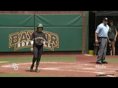 Baylor Softball: Highlights vs Iowa St (Sun)