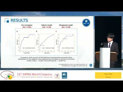 FP25.1 Free Papers 25 (mini oral) - Pancreas: Surgical Outcomes 3 (Fistula)