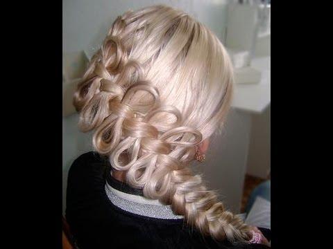 How to create a diagonal bow braid viriyuemoon youtube - Peinados de trenzas modernas ...