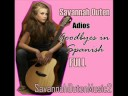 Savannah Outen 'Adios' FULL