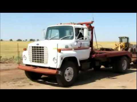 1984 Ford 8000 winch truck | no-reserve Internet auction August 25, 2011