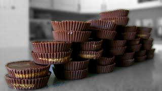 32 Reese's Peanut Butter Cups Eaten in 1 Minute
