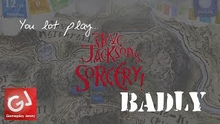 You Lot Play Sorcery! by Inkle Studios (Badly): IT'S A TARP!