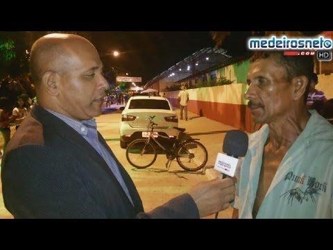 Populares falam sobre a importância das diversas obras no bairro Uldurico Pinto