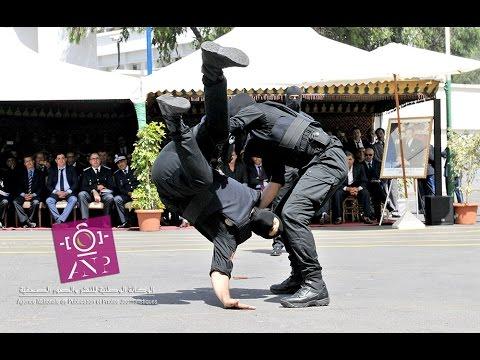 """فيديو """" إستعراض رجال الحموشي.. مهارات فنية وتدخلات احترافية عالية بمناسبة الذكرى 61"""
