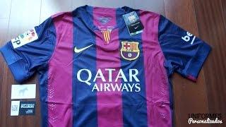 """Barcelona 14-15 (Playera """"Authentic"""") Local La Liga BBVA"""