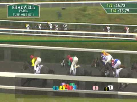 (10/05/2013) Keeneland Race 9 Shadwell Turf Mile S.