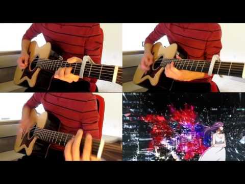Tokyo Ghoul OP  - Unravel (Acoustic guitar cover)