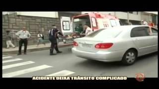 Acidente deixa tr�nsito complicado na Santo Ant�nio - Alterosa em Alerta - 20/10
