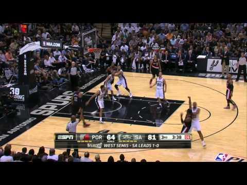 Portland Trail Blazers vs San Antonio Spurs Game 2 | May 8, 2014 | NBA Playoffs 2014