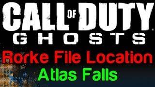 COD Ghosts: Atlas Falls Rorke File Location (Call Of Duty