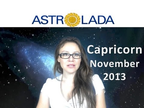 CAPRICORN NOVEMBER 2013 with astrolada.com