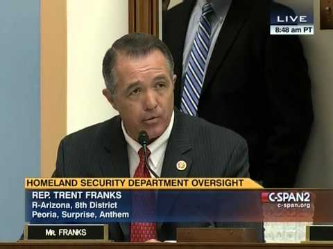 Trent Franks Questions Secretary of Homeland Security Jeh Johnson
