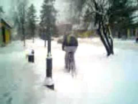 luda voznja po snegu (MILAN ME...)