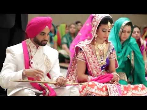 Jasprit & Harjot | SDE | Sikh Wedding Highlights 2014 by AVP Studios Canada
