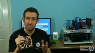 Noctua NF-F12 Review Corsair H100 Including Push Pull