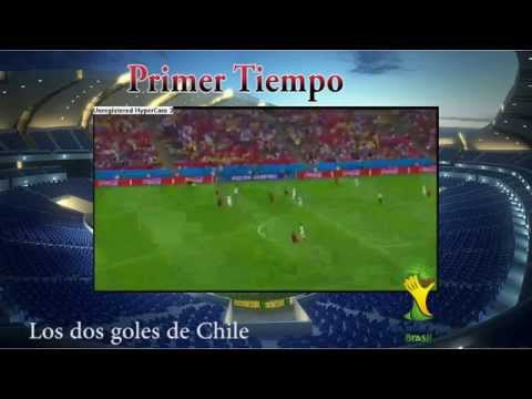 Chile 2-0 España - Spain vs Chile World Cup Brasil 2014