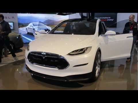 2014 Tesla Model X - Interior & Exterior - The Driver