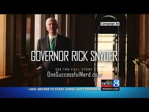 Snyder runs 1st re-election ad