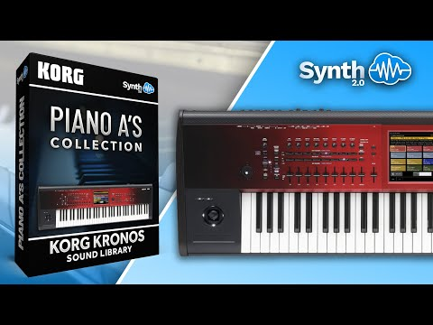 Piano A'S Collection Sound Bank for Korg Kronos / X / 2 ( Synthcloud ) demo 2