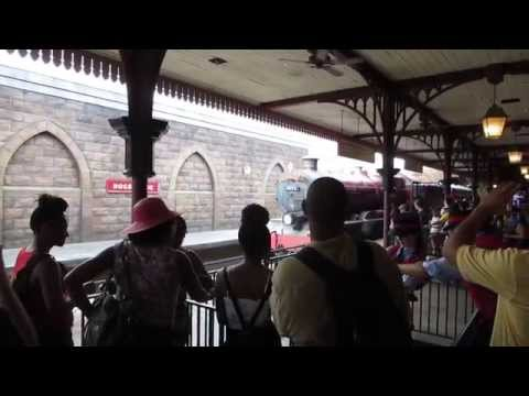 Finally Riding The Hogwarts Express At The Wizarding World Of Harry Potter Universal!!! (7.2.14)