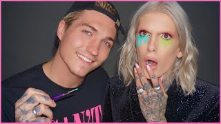 MY BOYFRIEND DOES MY MAKEUP... OMG