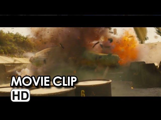 World War Z Movie CLIP - Chopper Takedown (2013) - Brad Pitt Movie HD