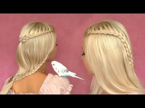 Knot Braid Prom Hairstyle For Medium Long Hair Tutorial Elegant