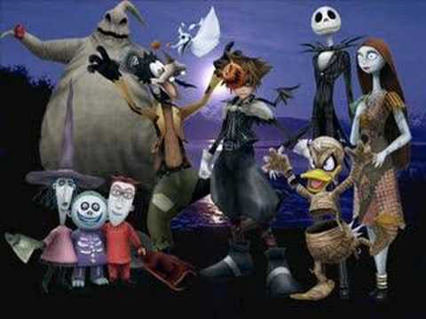 Kingdom Hearts - The nightmare before christmas - YouTube