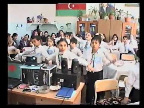 Nizami rayonu 251 sayli orta mektebde aciq ders