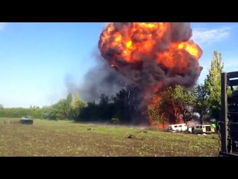 Dramatic footage: Insider video shows Ukraine helicopters firing at own troops