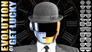 Evolution Of Get Lucky [Daft Punk Chronologic Cover By PV