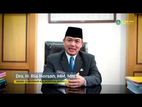 Wakil Gubernur Kalimantan Barat; Himbauan Menyukseskan STQN XXV