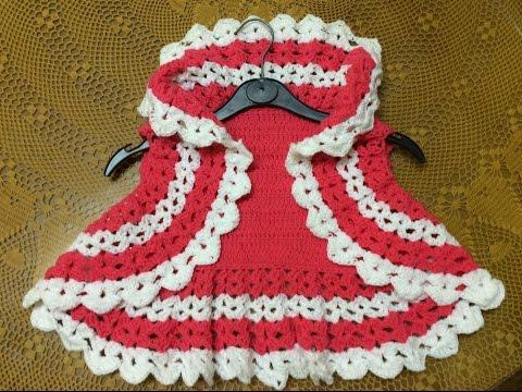 Cách móc áo khoác lửng - Easy crochet bolero all sizes child to adult