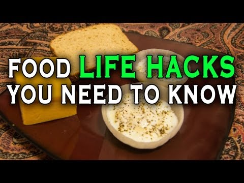 10 Incredible Food Life Hacks you need to know., This is Quick and Simple Life Hacks, Food Edition. We've put together 10 amazing food related hacks that you need to know. Sit back, grab your frying pan and...