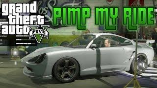 GTA V Pimp My Ride #19 Pfister Comet (Porsche 911) Car