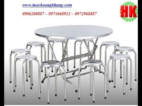 Sản xuất ,cung cấp bàn ghế inox,ghế nhà hàng tiệc cưới giá sỉ