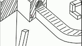 Line Rider M.C. Escher