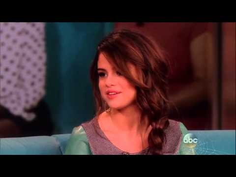 Selena Gomez Interview on The View- October 17, 2013