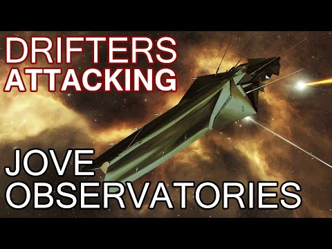 Drifters Attacking Jove Structures - EVE Online