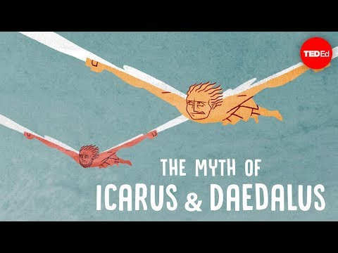 The myth of Icarus and Daedalus - Amy Adkins
