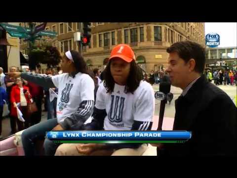 �gy �nnepelt�k a WNBA bajnok�t