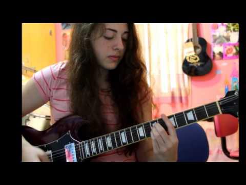 Minha menina - PALAVRANTIGA - guitarra: Gabriela Tobin