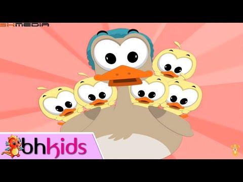 Nhạc Tiếng Anh Thiếu Nhi Vui Nhộn | Five Little Ducks | Numbers Song for Children