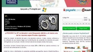 Como Quitar Facilmente La Policia Federal Virus