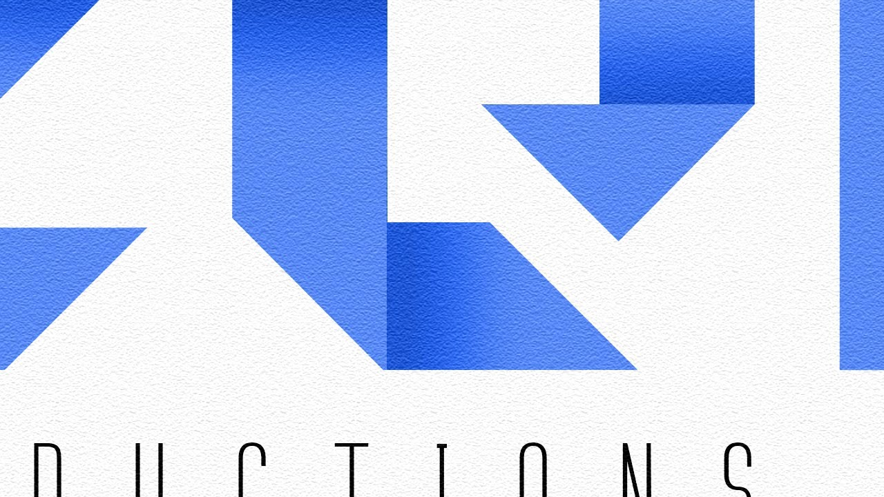Photoshop: Design an ORIGAMI Text Logo! - YouTube