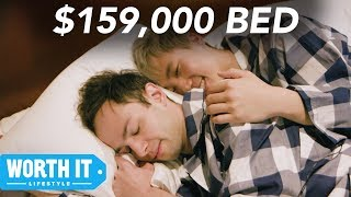 $150 Bed Vs. $159,000 Bed
